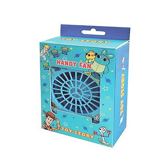 小禮堂 迪士尼 玩具總動員 手持電風扇 隨身風扇 桌扇 攜帶風扇 USB電扇 三段式 附頸掛繩 (綠 大臉)