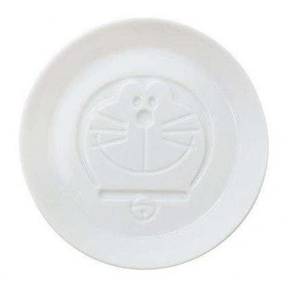 小禮堂 哆啦A夢 日製 迷你 陶瓷盤 圓盤 小菜盤 醬料碟 小皿 金正陶器 (白 大臉)