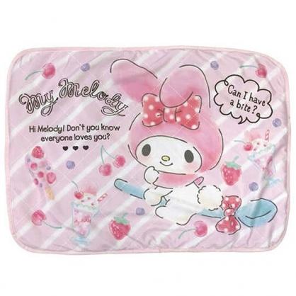 小禮堂 美樂蒂 涼感枕頭套 枕巾 枕套  冷感枕套 涼感寢具 43x60cm (粉 櫻桃)