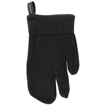 小禮堂 日製 去污手套 尼龍 菜瓜布 抹布 清潔刷 家事手套 清潔手套 (1入 黑)