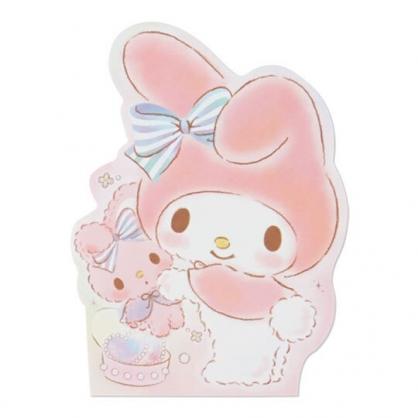 小禮堂 美樂蒂 萬用卡片 造型卡片 祝賀卡 送禮卡 感恩卡 節慶卡 (粉 玩偶)