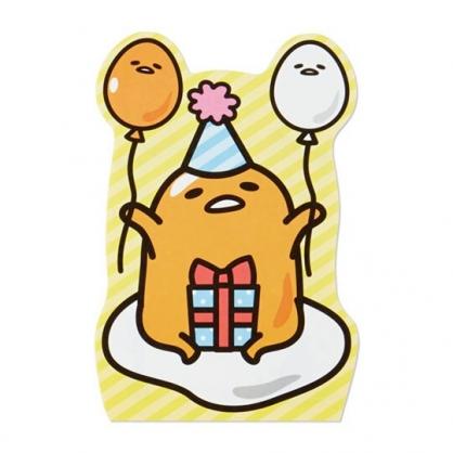 小禮堂 蛋黃哥 萬用卡片 造型卡片 祝賀卡 送禮卡 感恩卡 節慶卡 (黃 禮物)