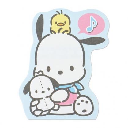 小禮堂 帕恰狗 萬用卡片 造型卡片 祝賀卡 送禮卡 感恩卡 節慶卡 (藍 格紋)