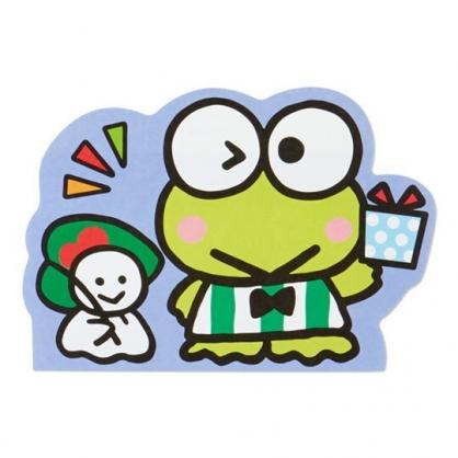 小禮堂 大眼蛙 萬用卡片 造型卡片 祝賀卡 送禮卡 感恩卡 節慶卡 (綠 禮物)