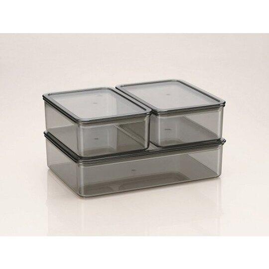 小禮堂 宮崎駿 龍貓 日製 透明保鮮盒 方形 便當盒 食物盒 餐盒 440ml (綠 拿包袱)