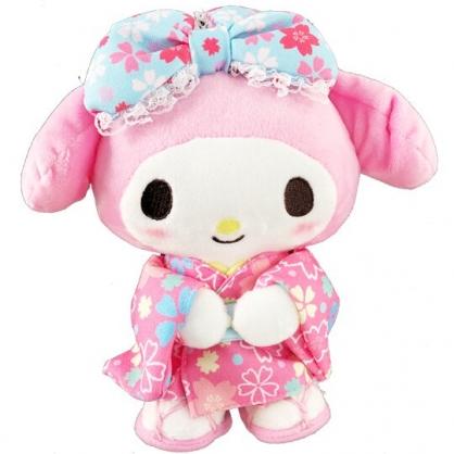 小禮堂 美樂蒂 絨毛 玩偶 娃娃 玩具 布偶 (S 粉 和服)