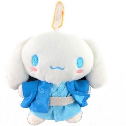 小禮堂 大耳狗 絨毛吊飾 娃娃 布偶 玩具 吊飾 掛飾 鑰使圈 鎖圈 (藍 和服)