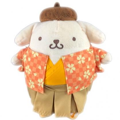 小禮堂 布丁狗 絨毛 玩偶 娃娃 玩具 布偶 (S 橘 和服)