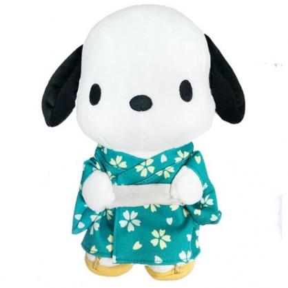 小禮堂 帕恰狗 絨毛 玩偶 娃娃 玩具 布偶 (S 綠 和服)