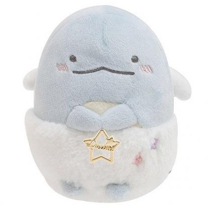 小禮堂 恐龍 迷你 沙包玩偶 絨毛 娃娃 布偶 玩具 (藍白 毛毛褲)