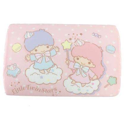 小禮堂 雙子星 方形棉質枕頭 兒童枕頭 記憶枕 午睡枕 (粉白 雲朵)
