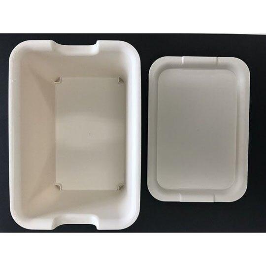 小禮堂 山田化學 日製 方形拿蓋收納箱 塑膠收納箱 玩具箱 可堆疊 (米)