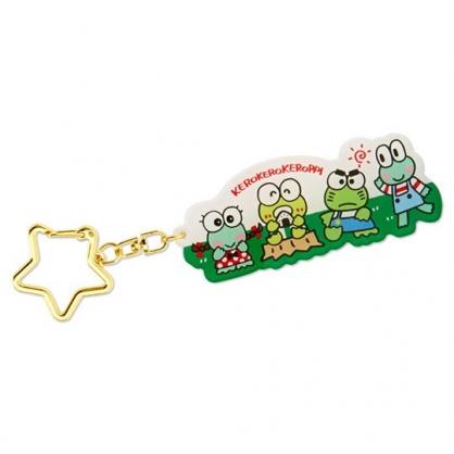 小禮堂 大眼蛙 造型壓克力鑰匙圈 吊飾 掛飾 鎖圈 (綠 朋友)