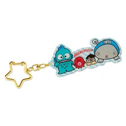 小禮堂 海怪 造型壓克力鑰匙圈 吊飾 掛飾 鎖圈 (藍 朋友)