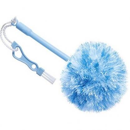 小禮堂 日本GOGIT 電風扇專用清潔刷 隙縫刷 除塵刷 (藍白)