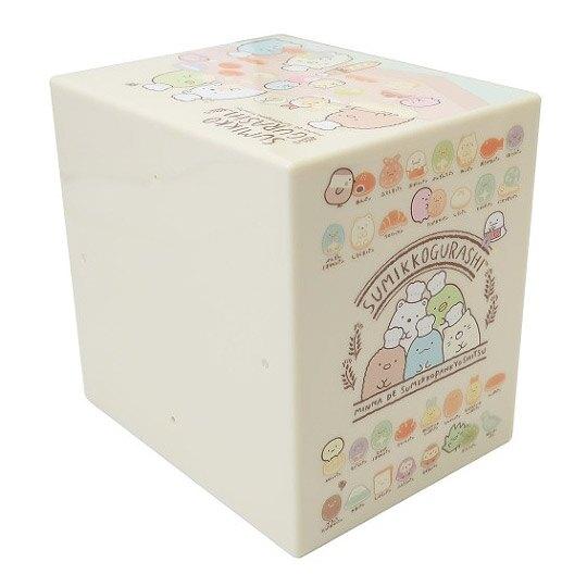 小禮堂 角落生物 塑膠三抽收納盒 桌上型抽屜盒 飾品盒 (米 做麵包)