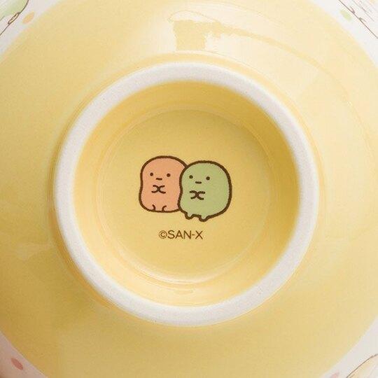 小禮堂 角落生物 日製 陶瓷碗 湯碗 飯碗 (白黃 點點)