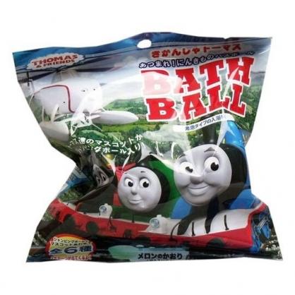 小禮堂 湯瑪士火車 入浴球 入浴劑 泡澡球 沐浴球 (6款隨機 藍 排列)