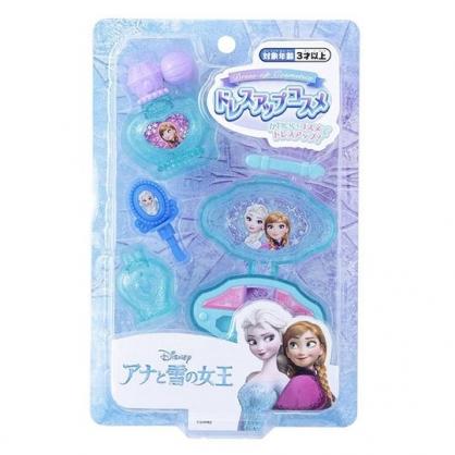 小禮堂 迪士尼 冰雪奇緣 香水指甲油玩具組 辦家家酒 化妝玩具 (綠泡殼)