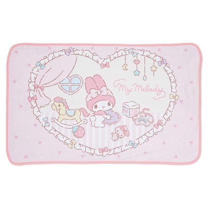 小禮堂 美樂蒂 涼感冷氣毯 單人毛毯 涼感毯 涼感寢具 70x110cm (粉 木馬)