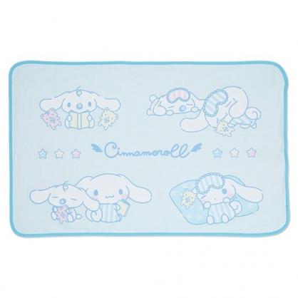 小禮堂 大耳狗 涼感冷氣毯 單人毛毯 涼感毯 涼感寢具 70x110cm (藍 朋友)