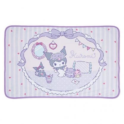 小禮堂 酷洛米 涼感冷氣毯 單人毛毯 涼感毯 涼感寢具 70x110cm (紫 房間)