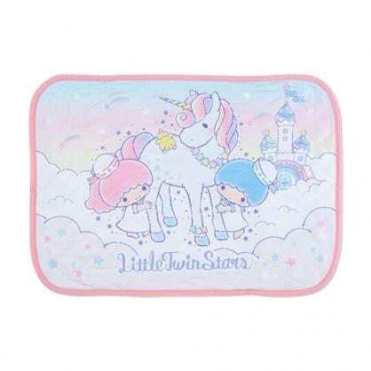 小禮堂 雙子星 涼感枕頭套 枕巾 冷感枕套 涼感寢具 43x63cm (粉 獨角獸)