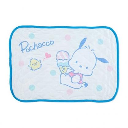 小禮堂 帕恰狗 涼感枕頭套 枕巾 冷感枕套 涼感寢具 43x63cm (藍 冰淇淋)