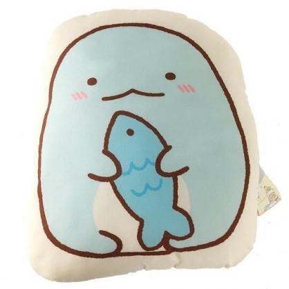 小禮堂 角落生物 恐龍 造型絨毛抱枕 靠墊 玩偶 娃娃 (黃藍 拿魚)