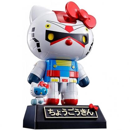 【官網獨家】小禮堂 Hello Kitty 超合金 RX-78-2 鋼彈 機器人 日本萬代 BANDAI