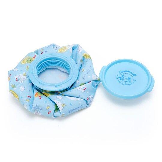 小禮堂 大耳狗 圓筒型尼龍冰敷袋 冰枕 退熱袋 (藍黃 2020新生活)