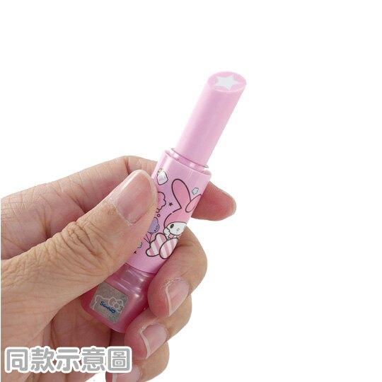 小禮堂 Hello Kitty 口紅造型橡皮擦 擦布 (3款隨機)