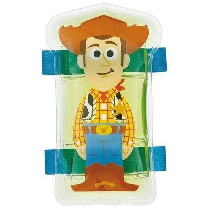 小禮堂 迪士尼 玩具總動員 胡迪 造型透明保冷劑 保冰劑 冰敷袋 (黃棕 站姿)