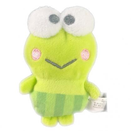 小禮堂 大眼蛙 迷你換裝娃娃 絨毛玩偶 沙包娃娃 (綠 熱帶沙灘)