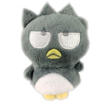 小禮堂 酷企鵝 迷你換裝娃娃 絨毛玩偶 沙包娃娃 (灰白 熱帶沙灘)
