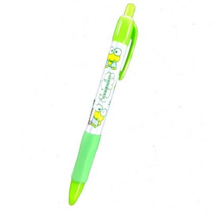 小禮堂 大眼蛙 胖胖自動鉛筆 HB 0.5mm (綠紫 直紋)