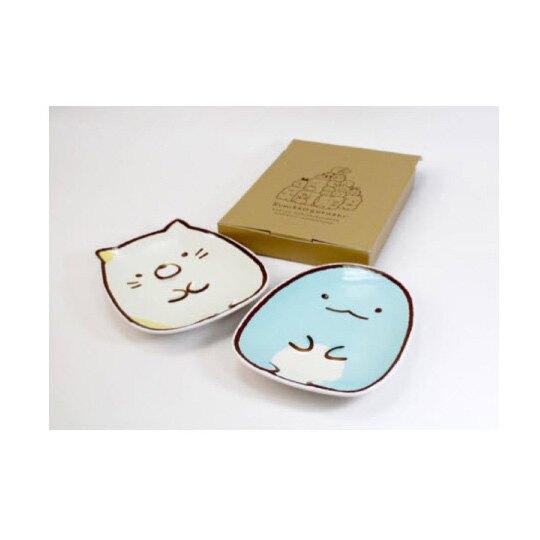 小禮堂 角落生物 企鵝 造型陶瓷盤 水果盤 點心盤 沙拉盤 (綠 坐姿)