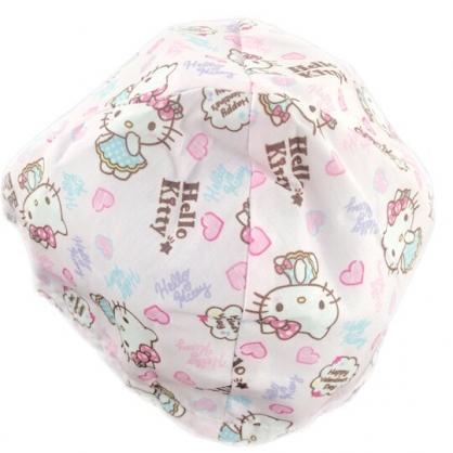 小禮堂 Hello Kitty 安全帽內襯 安全帽墊 帽套 (粉 愛心)