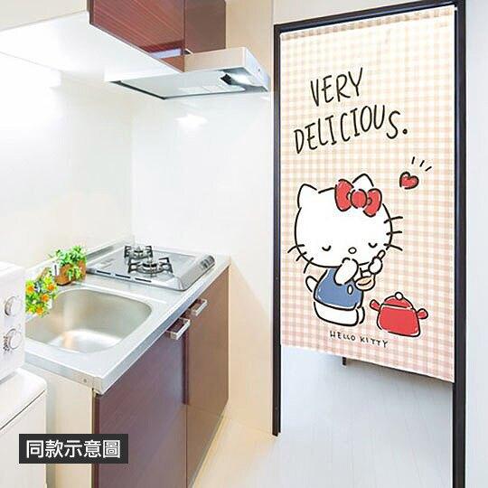 小禮堂 帕恰狗 日製 棉麻長門簾 窗簾 遮光簾 85x150cm (藍桃 冰淇淋)