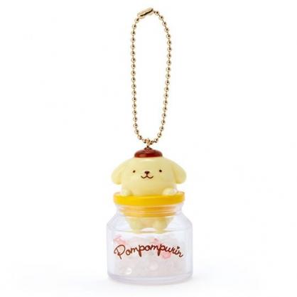小禮堂 布丁狗 糖果罐造型香水珠吊飾 香氛鑰匙圈 香氛掛飾 (黃)