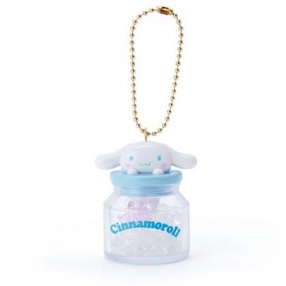 小禮堂 大耳狗 糖果罐造型香水珠吊飾 香氛鑰匙圈 香氛掛飾 (藍)