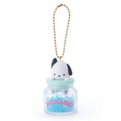 小禮堂 帕恰狗 糖果罐造型香水珠吊飾 香氛鑰匙圈 香氛掛飾 (綠)
