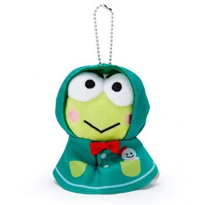 小禮堂 大眼蛙 晴天娃娃絨毛吊飾 玩偶吊飾 鑰匙圈 可連接 (綠紅)
