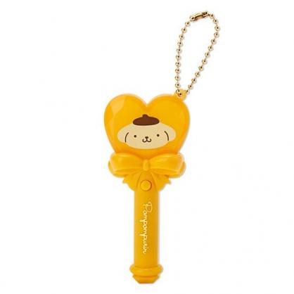 小禮堂 布丁狗 愛心權杖造型LED鑰匙圈 LED掛飾 發光吊飾 玩偶配件 (黃)
