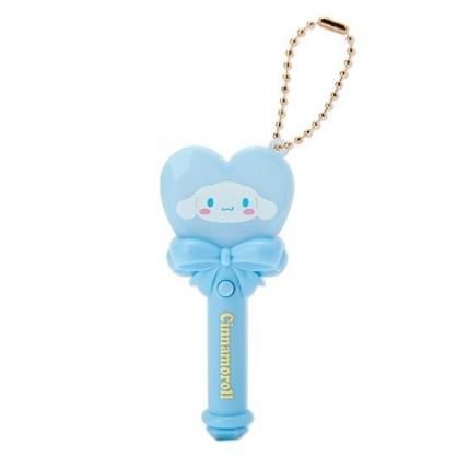 小禮堂 大耳狗 愛心權杖造型LED鑰匙圈 LED掛飾 發光吊飾 玩偶配件 (藍)