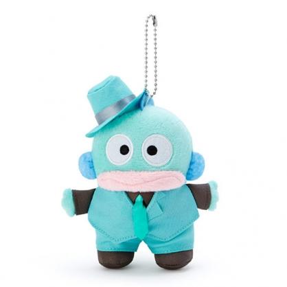 小禮堂 海怪 絨毛吊飾 玩偶吊飾 鑰匙圈 (藍 俏皮偵探)