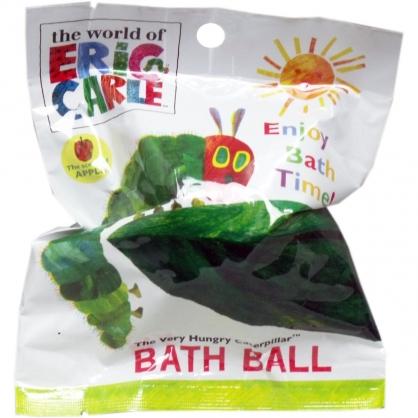 小禮堂 好餓的毛毛蟲 入浴球 入浴劑 泡澡球 沐浴球 (6款隨機 綠 太陽)