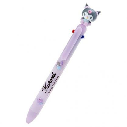 小禮堂 酷洛米 造型多色筆 自動鉛筆 原子筆 三色筆 0.5mm (紫 寶寶回憶)