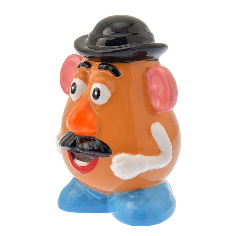 小禮堂 迪士尼 玩具總動員 蛋頭先生 陶瓷存錢筒 陶瓷撲滿 儲金筒 (棕 站姿)