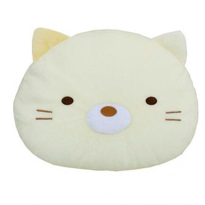 小禮堂 角落生物 貓咪 變身絨毛玩偶 絨毛娃娃 布偶  絨毛靠枕 (黃 大臉)